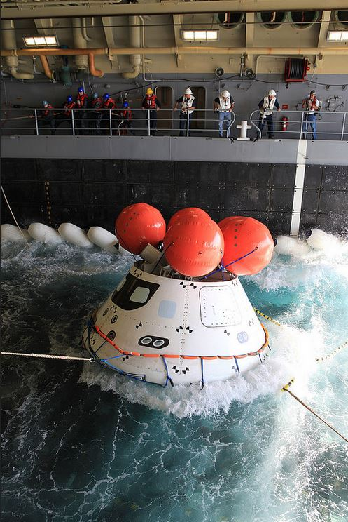 Orion Underway